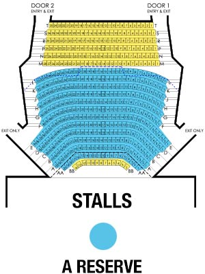 Playhouse Stalls Map