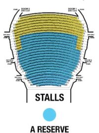 The State Theatre Stalls Map