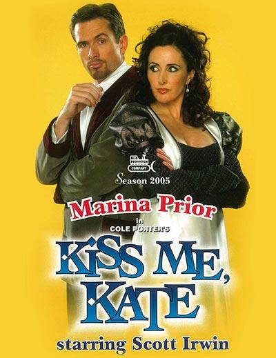 Kiss me Kate artwork