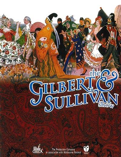 The Gilbert and Sullivan Show - 2000 - Melbourne Festival artwork